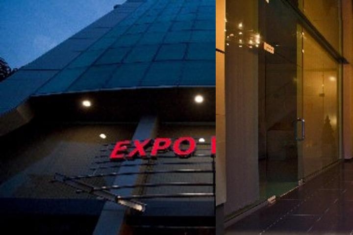 Expo Hotel photo collage