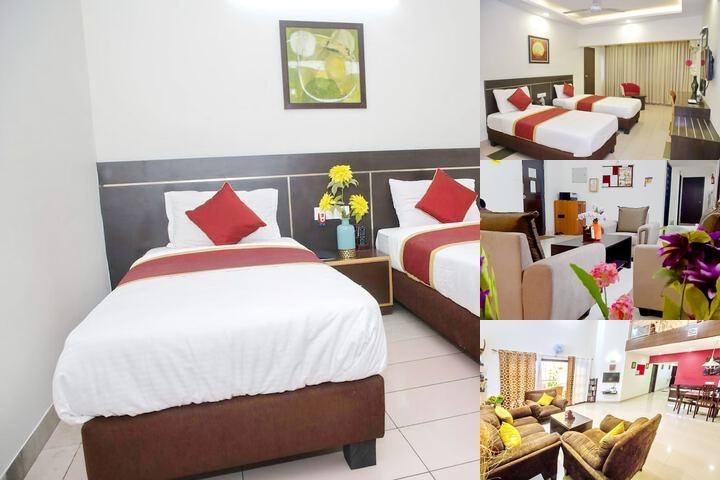Homestay Service Apartment photo collage