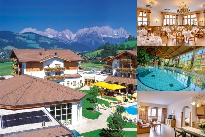 Cordial Golf & Wellness Hotel Reith photo collage