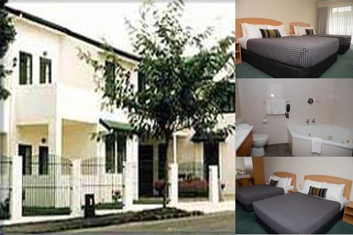 Greenlane Manor Motel photo collage