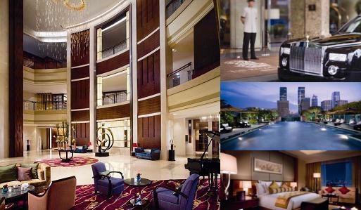 The Ritz Carlton Shenzhen photo collage