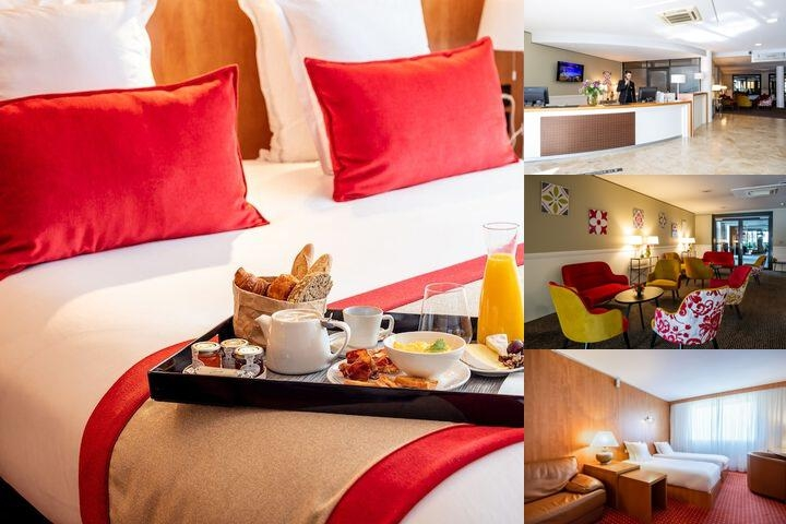 Quality Suites Bordeaux Aeroport & Spa photo collage