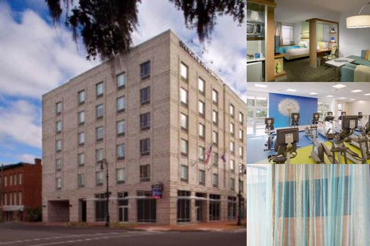 Springhill Suites Savannah Historic District photo collage