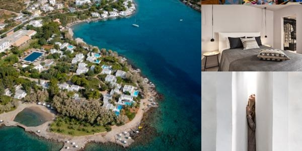 Minos Beach Art Hotel photo collage