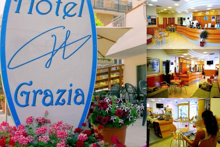 Grazia Hotel photo collage