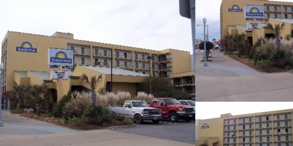 Days Inn at the Beach photo collage