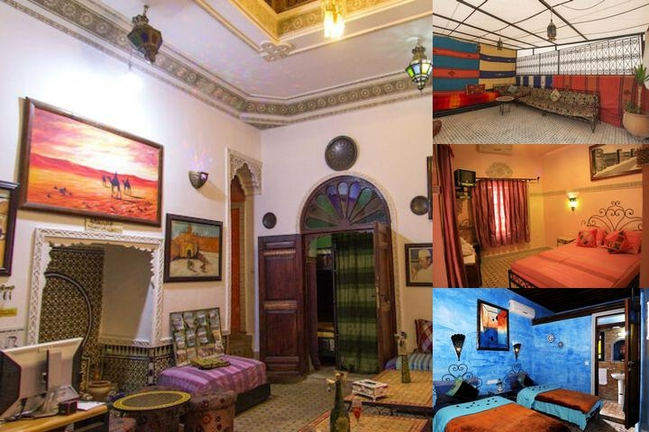 Riad Dar Al Ouali photo collage