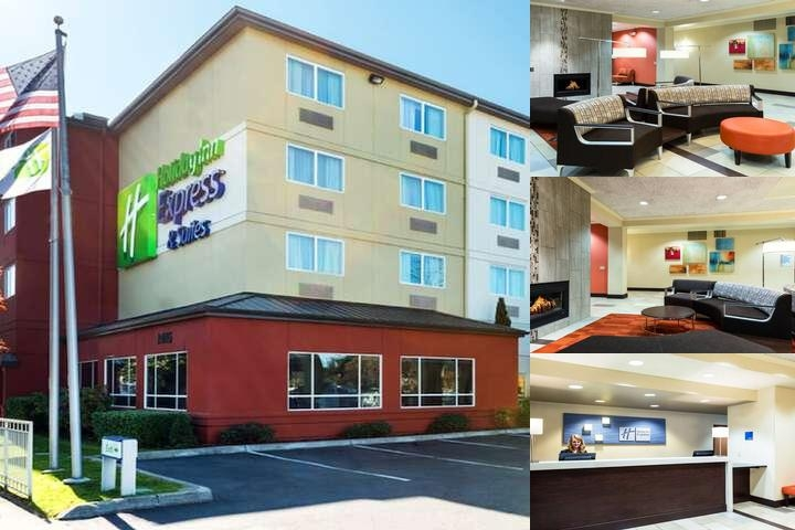 Holiday Inn Express North Seattle Shoreline photo collage