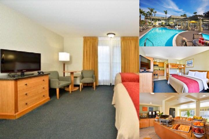 Portofino Inn & Suites San Diego Hotel Circle photo collage