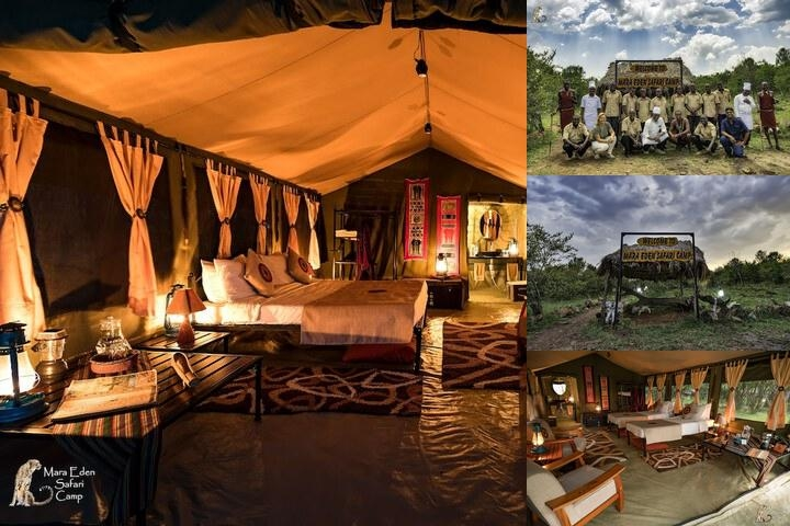 Mara Eden Safari Camp photo collage
