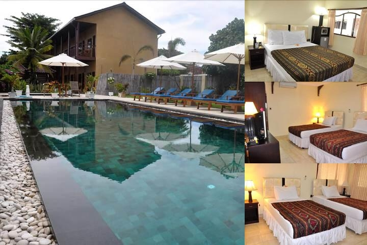 Gili T Resort photo collage