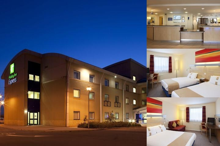 Holiday Inn Express Cardiff Airport photo collage