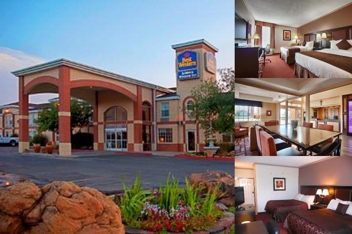 Best Western Plus Lubbock Windsor photo collage