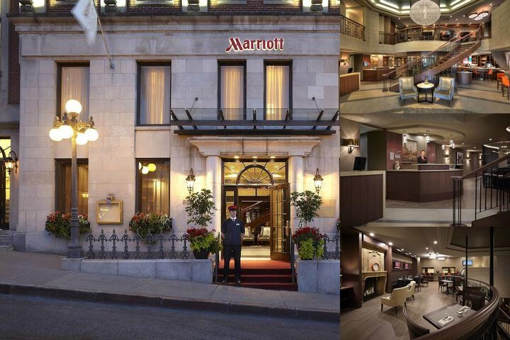 Quebec City Marriott Downtown photo collage