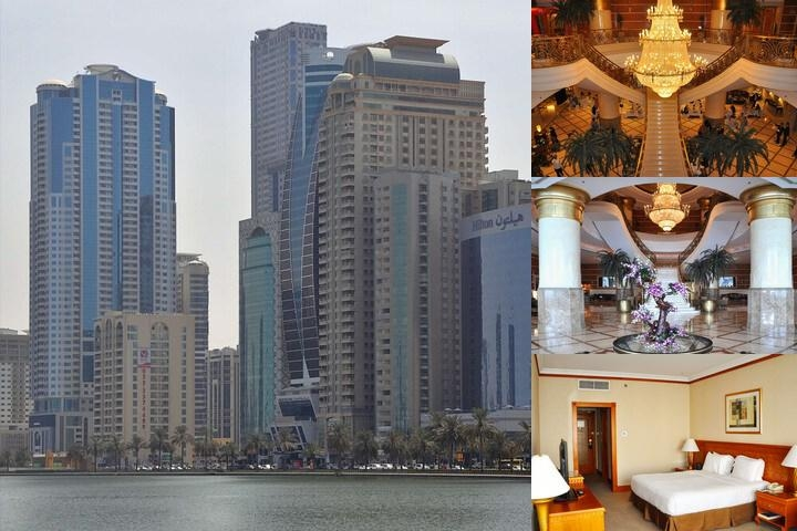 Hilton Sharjah photo collage