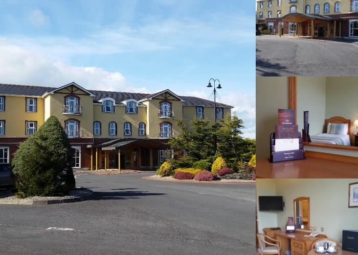 Woodlands Hotel photo collage