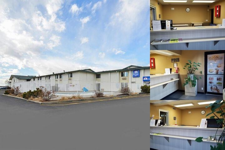 Americas Best Value Inn Airport photo collage