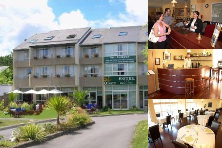 Quality Hotel Quimper Kerloc'h Gwen photo collage