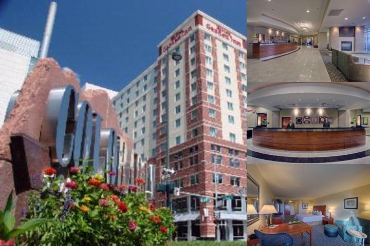 Hilton Garden Inn Denver Downtown photo collage