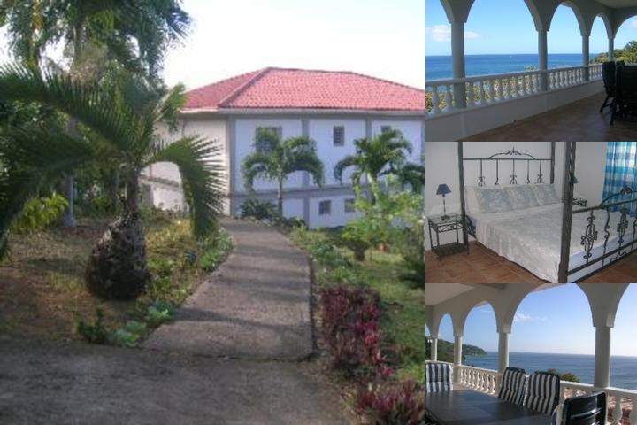 Caribbean Sea View Holiday Apartments photo collage