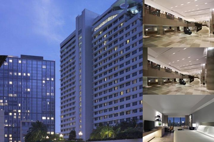 New World Makati Hotel photo collage