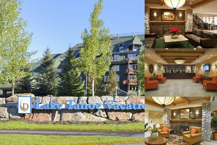 Lake Tahoe Resort photo collage