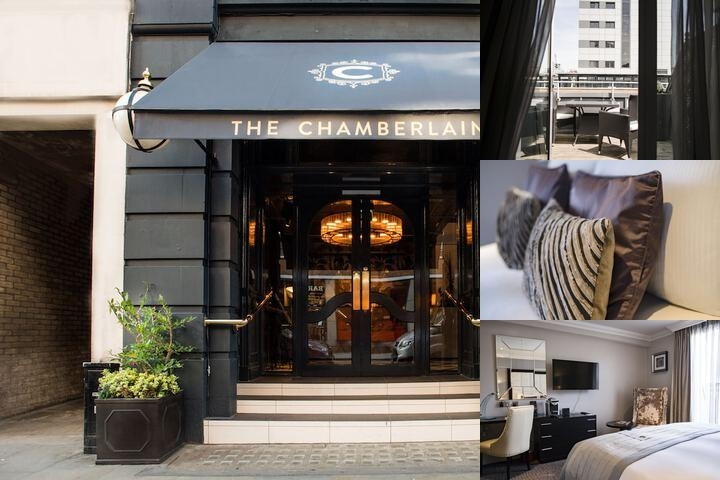 The Chamberlain Hotel photo collage