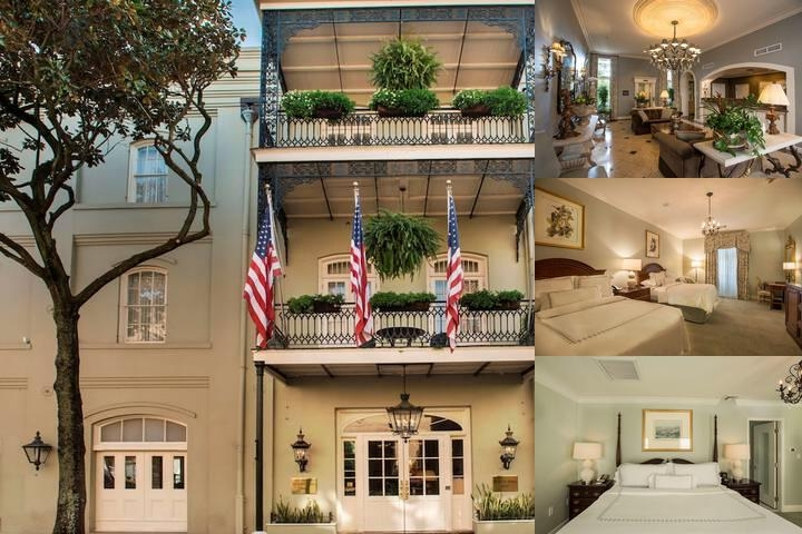 Bienville House photo collage
