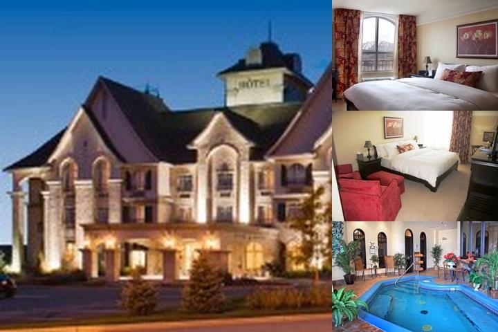 Le St. Martin Bromont Hotel & Suites photo collage