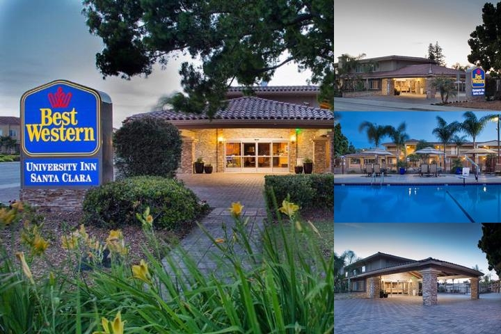 Best Western University Inn Santa Clara photo collage