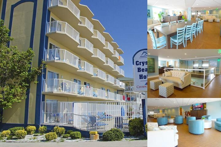 Crystal Beach Hotel photo collage
