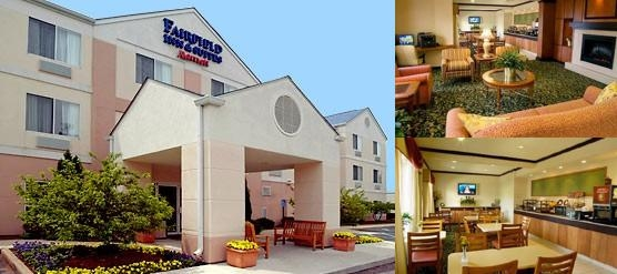 Fairfield Inn by Marriott Indianapolis Airport photo collage