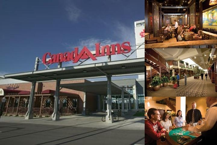 Canad Inns Destination Center Grand Forks photo collage
