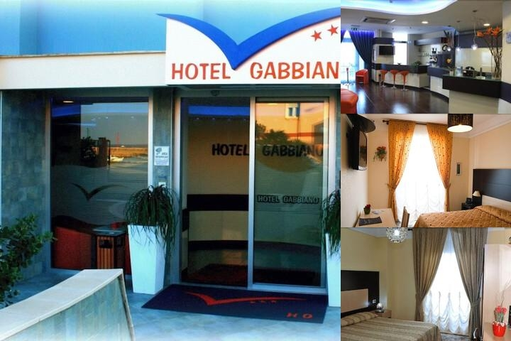 Hotel Gabbiano photo collage