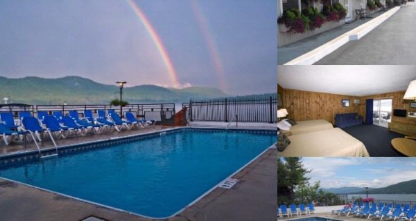 The Lake Motel photo collage