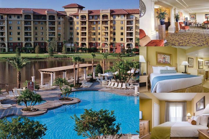 Wyndham Bonnet Creek Resort photo collage