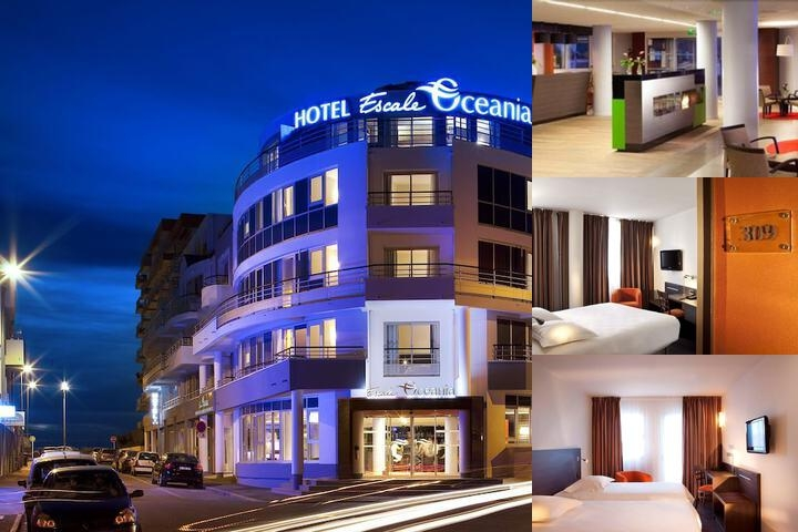 Hotel Escale Oceania Pornichet La Baule photo collage