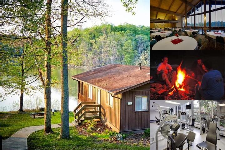 Salt Fork Lodge & Conference Center photo collage