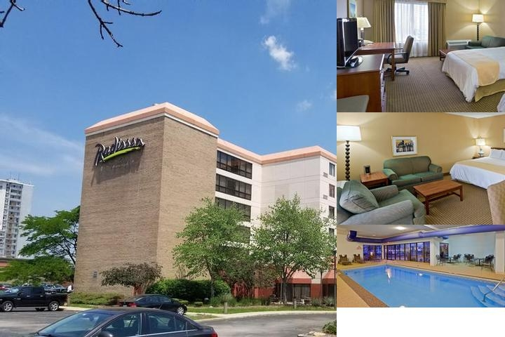 Radisson Hotel Cleveland Airport photo collage