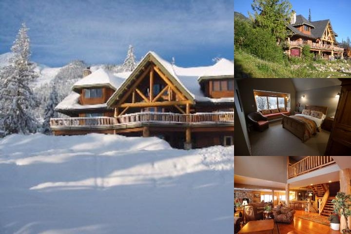 Vagabond Lodge at Kicking Horse Resort photo collage