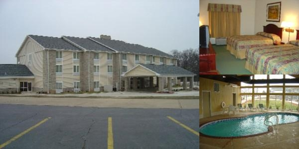 Crown Pointe Lodge photo collage