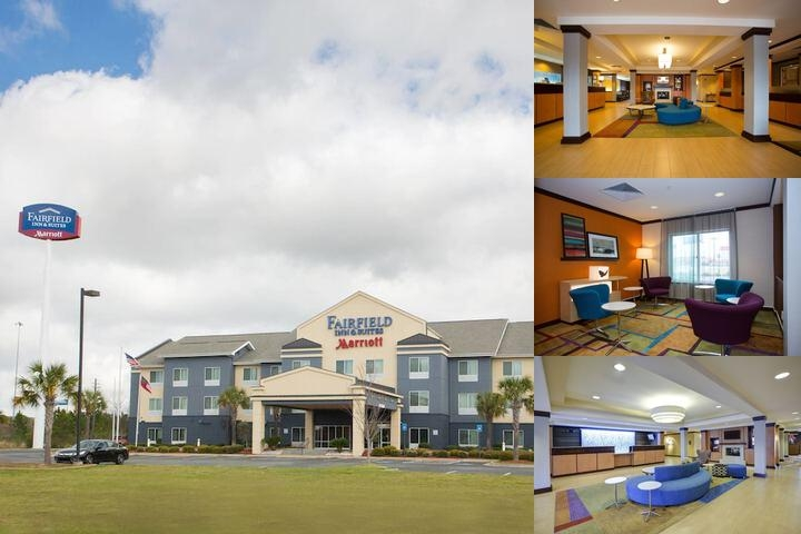 Fairfield Inn & Suites by Marriott Cordele photo collage