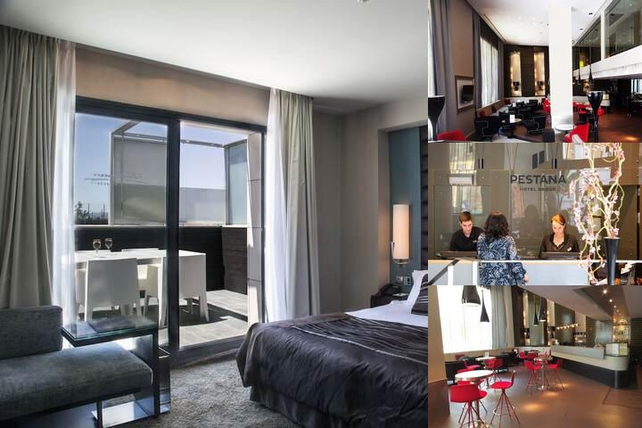 Pestana Arena Barcelona photo collage