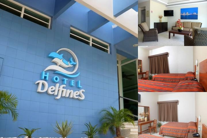 Hotel Delfines photo collage