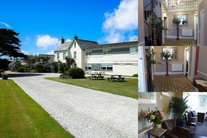 Bossiney House Hotel photo collage