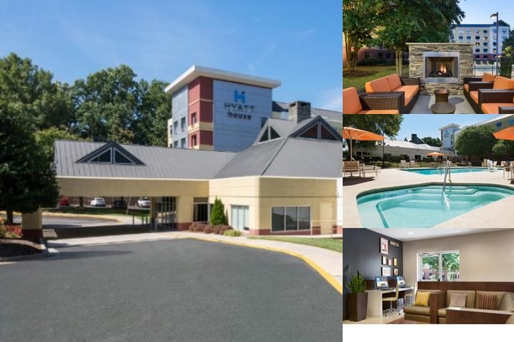 Hyatt House Charlotte Airport photo collage