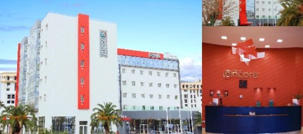 Ramada Encore Tanger photo collage
