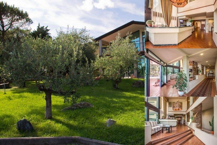Hotel Villa Cesi photo collage