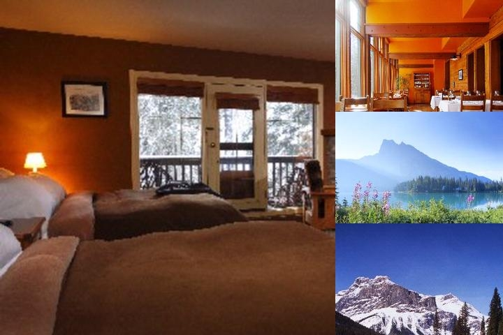 Emerald Lake Lodge photo collage