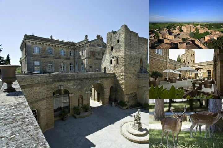 Chateau De Rochegude photo collage